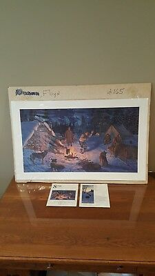 1991 Fur Rendezvous  Gause Limited  Edition Fur Rondy Print  prelude to Iditarod