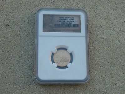 2009-S Lincoln 1 Cent Proof Ngc Pf69 Rd Ultra Cameo Formative Years