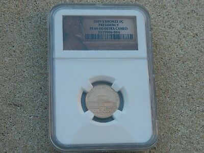 2009-S Lincoln 1 Cent Proof Ngc Pf69 Rd Ultra Cameo Presidency