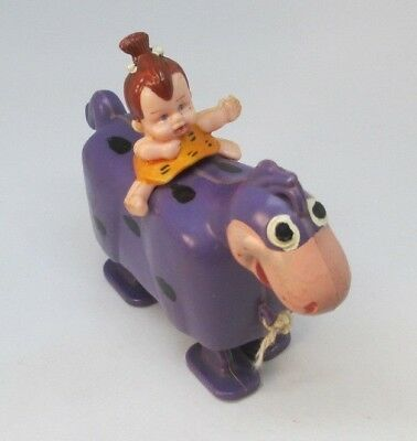 1960s Marx Pebbles & Dino RARE Working Ramp Walker