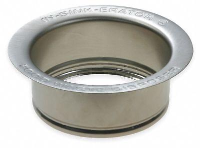 In-sink-erator Stainless Steel   Sink Flange, For Use With Waste Disposers