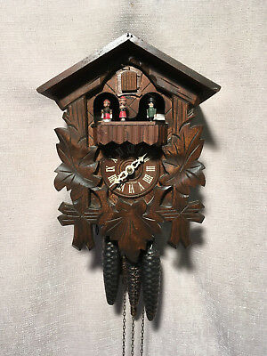 Black Forest REGULA Mechanical, Dual Tune Musical with Dancers  Cuckoo Clock