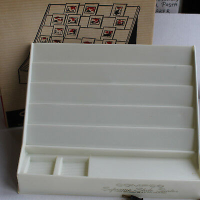 "COMPCO Illuminated SLIDE SORTER & VIEWER for  2""x2"" 35mm Slides - Tested & Works"