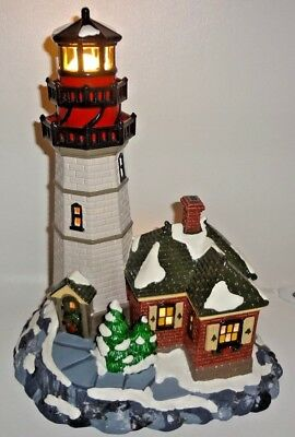Dept. 56 The Original Snow Village Christmas Cove Lighthouse In Box Near Mint