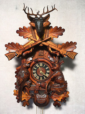 Large  Mechanical 'Regula'  Cuckoo Clock, Original Black Forest  New