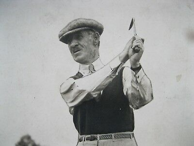 Vintage Golf Golfer Golfing Press Photograph maybe 1930-40 NO IDEA WHO THIS IS