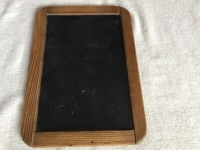 1800Antique Victorian Childs School Writing Slate , Double Sided Chalkboard RARE