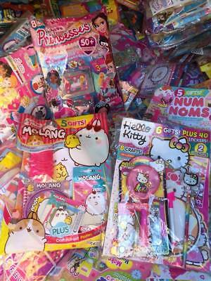 clearance  job lot wholesale 10 magazines with toys gifts etc random mix Lot