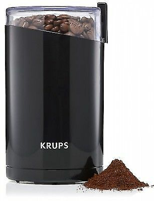 Krups F203 Electric Spice and Coffee Grinder Mill with Stainless Steel Blades