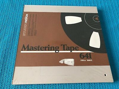Revox Mastering Tape 641 Extended-Play Tape - NEW AND COVERED