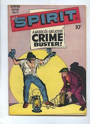 HIGH GRADE 1948 The Spirit #11 Quality Comic Book NM
