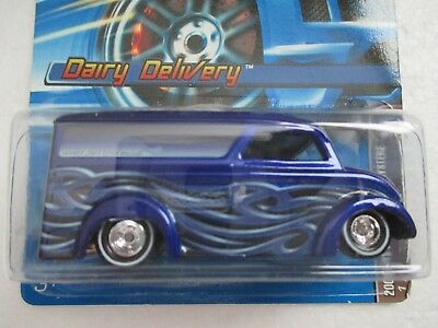 Hot Wheels 2006 Dairy Delivery Mystery Car Made Mint In Blister