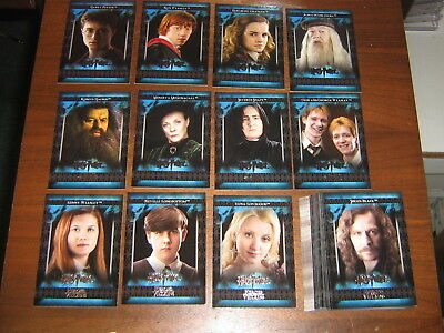 Harry Potter Heroes & Villains Movie Card Set 2010 Artbox #1-54