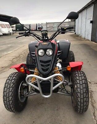 Road Legal Quad Bike Quadzilla
