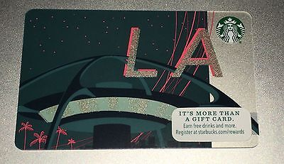 "STARBUCKS Gift Card ""LOS ANGELES: LAX BUILDING"" 2015 No Cash Value"