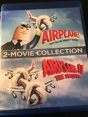 Airplane! 2 Movie Collection (Blu Ray) NEW
