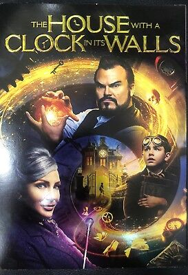 The House with a Clock in Its Walls (DVD, 2018) Brand New Sealed W/Slip Cover