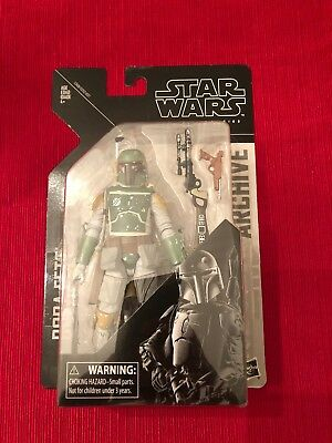 Star Wars The Black Series 6-Inch 2019 Archive Series Boba Fett In Stock