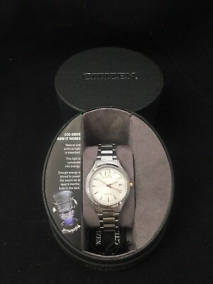 Citizen FE6124-51A Eco Drive Women's Chandler Stainless Steel Watch     122W
