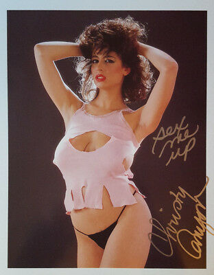 CHRISTY CANYON SIGNED 8x10 PHOTO w/ PIC PROOF! LOT K