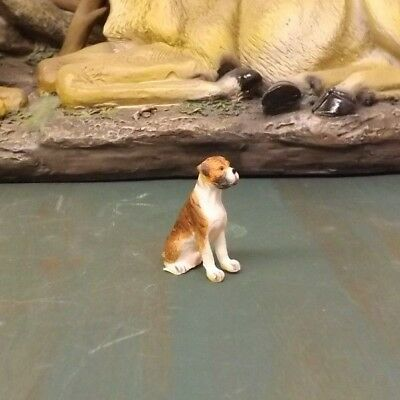 New Miniature Resin Boxer Dogs FREE SHIPPING!!!!