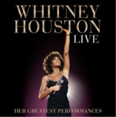Whitney Houston-Live: Her Greatest Performances CD NUOVO
