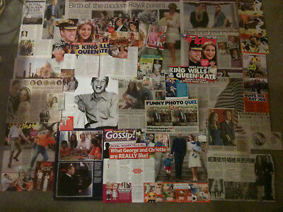 PRINCE WILLIAM - Over 20 clippings - Kate Middleton, Duchess Of Cambridge