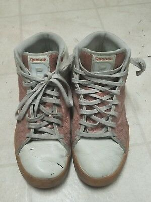 Reebok Size 10.5 Raww Hightop Sneakers Mens Shoes White   Bronze V60884 a570f74de