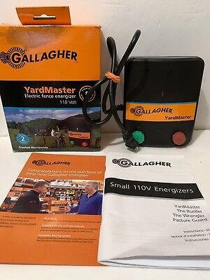 Gallagher Yardmaster Electric Horse Fence Charger energizer, Free Shipping