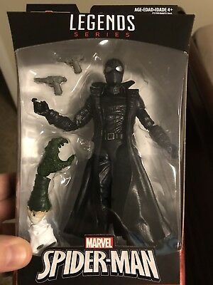 MARVEL Legends Spider-Man Noir 6 Inch Action Figure (BAF Lizard) NEW