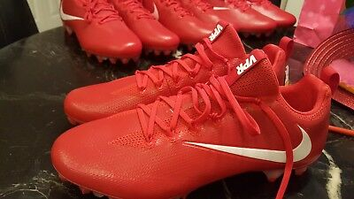 4f436f112a85 Nike Vapor Untouchable PRO CF Football Cleats Red 922898-617 Men Sz14 NEW!