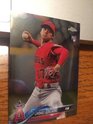 2018 Topps Update Chrome - Shohei Ohtani Rookie Card Hmt1 - Angels Roy