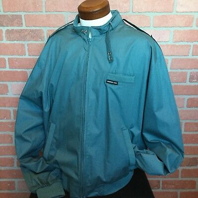 Vintage 80s Members Only Jacket Cafe Racer Mens Xxl Long Rn 28593