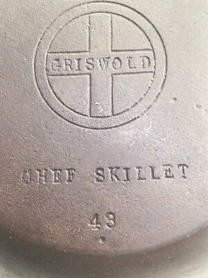 Griswold  CHEF SKILLET Cast Iron Pan