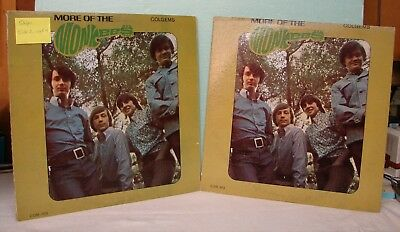 "3 - The Monkees - Two copies of ""More of the.."" and one copy of ""Greatest Hits""."