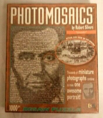 Jigsaw Puzzle American History Portrait Abraham Lincoln 1000 pieces NEW
