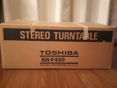 Toshiba SR-F450 Turnable Belt Drive Fully Automatic Record Player Untested