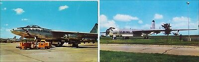 Lot, 2 Military Aircraft: Air Force Bombers. Jacksonville, AR & Fort Worth, TX.