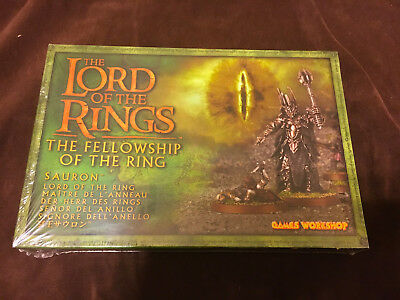 Games Workshop Lord of the Rings Fellowship of the Ring SAURON metal SEALED