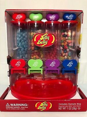 Jelly Belly Bean Dispenser Candy Vending Dispenser *No Sample Bag* NIB