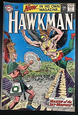 Hawkman #1 - DC 1964 1ST Hawkman Series Begins! Flash, TV, Mid-Grade Nice KEY!