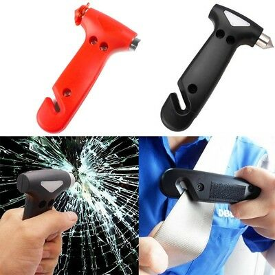 Life Saving Emergency Hammer  Window Glass Breaker Seat Belt Cutter Safety Tool
