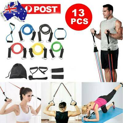 13PCS Resistance Bands for Exercise Men and Women Legs Arms Booty Yoga Physio