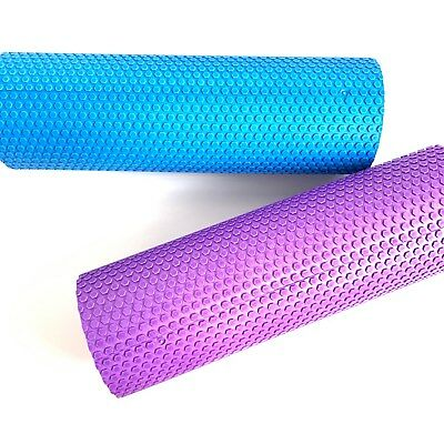 Pilates Foam Roller Long Physio Yoga Fitness GYM Exercise Sport Training 45/60CM