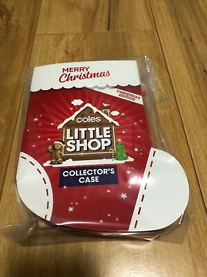 Express Post Coles Little Shop Christmas Edition Collectors Case New Sealed