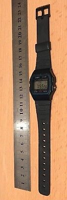 Vintage/Retro Genuine Casio F-91W Alarm Classic Digital Watch , Free Uk Postage