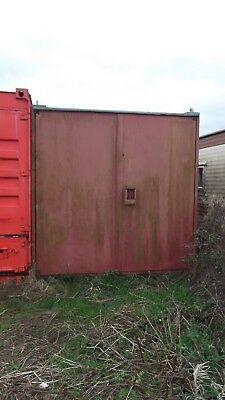 Used, Length 21ft - Height 7ft - Width 8ft Steel Storage Shipping Container