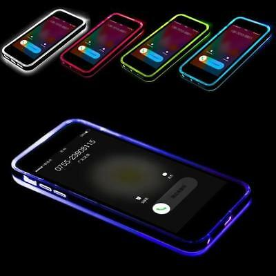 Remind Incoming Call LED Flash Light Up Soft TPU Cover Case For iPhone XS Max XR