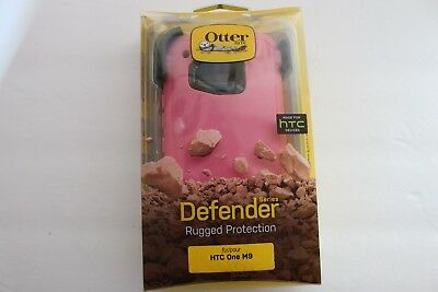 New OtterBox Defender Case & Holster Belt Clip for HTC One M9 - 100% Authentic!