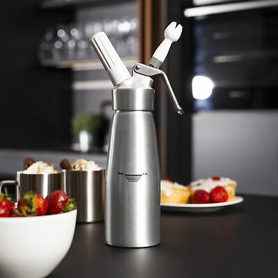 500ml Whipped Cream Dispenser Attachments Included Decorating Nozzles M&W